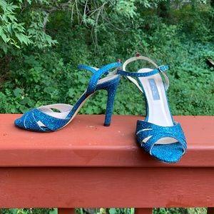 SJP by Sarah Jessica Parker Shoes - SJP Sarah Jessica Parker texture glitter sandals